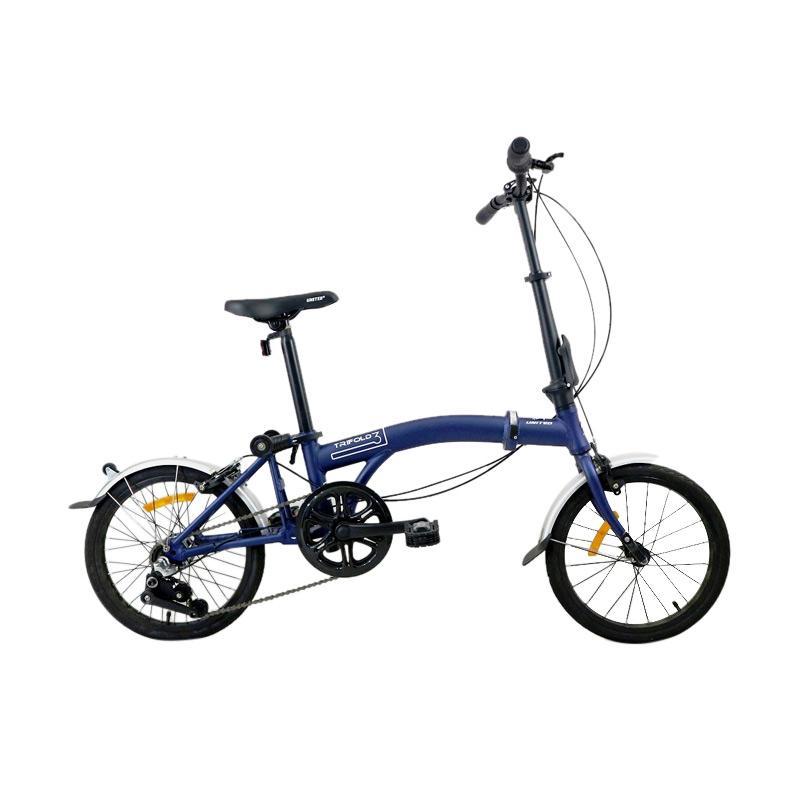 Jual Sepeda Lipat United Trifold 3 16 Inch 3 Speed Online Desember 2020 Blibli