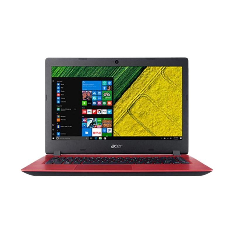 Acer Aspire 3 ACER A314 33 C1V8 Notebook Red N4000 4GB 500GB ODD 14 Inch Win10