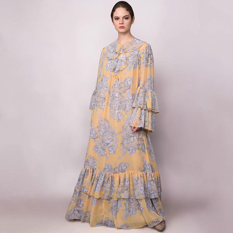 Barli Asmara BB SS08 Amaryl Dress Wanita Yellow