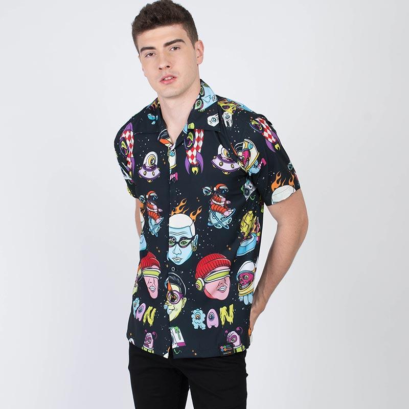 WTF RAN For Your Life Cuban Shirt