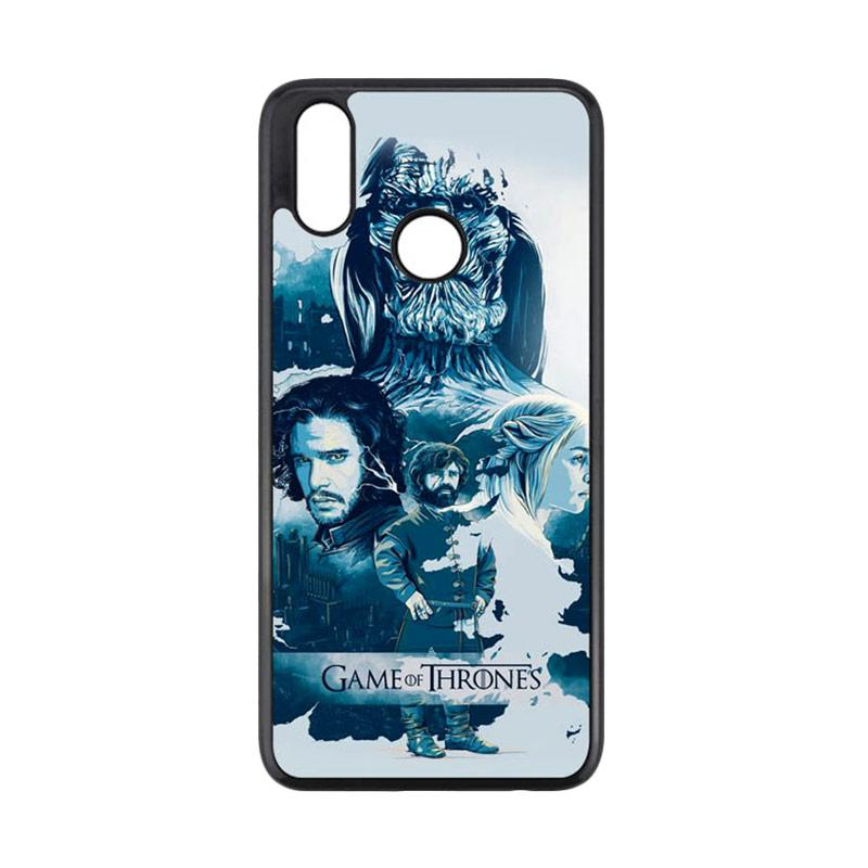 drawing game of thrones Cannon Case Game Of Thrones Drawing L2919 Custom Hardcase Casing For Realme 3 Pro