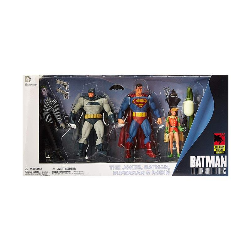 DC Collectibles Dark Knight Returns Actionfigur Batman Joker Superman Robin