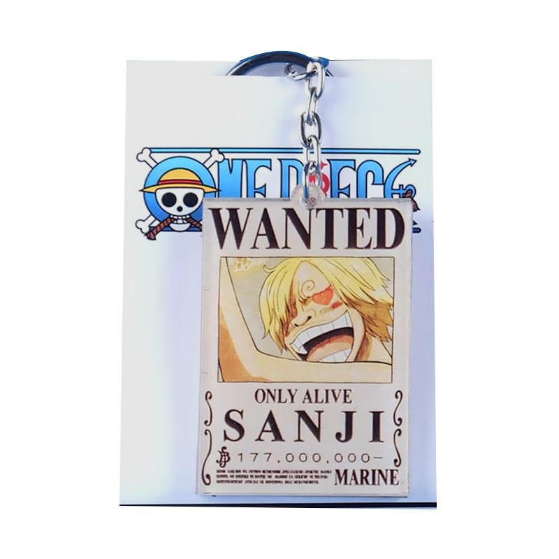 Jual Fs Oem Anime One Piece Karakter Sanji Wanted Gantungan Kunci Multifungsi Online November 2020 Blibli Com