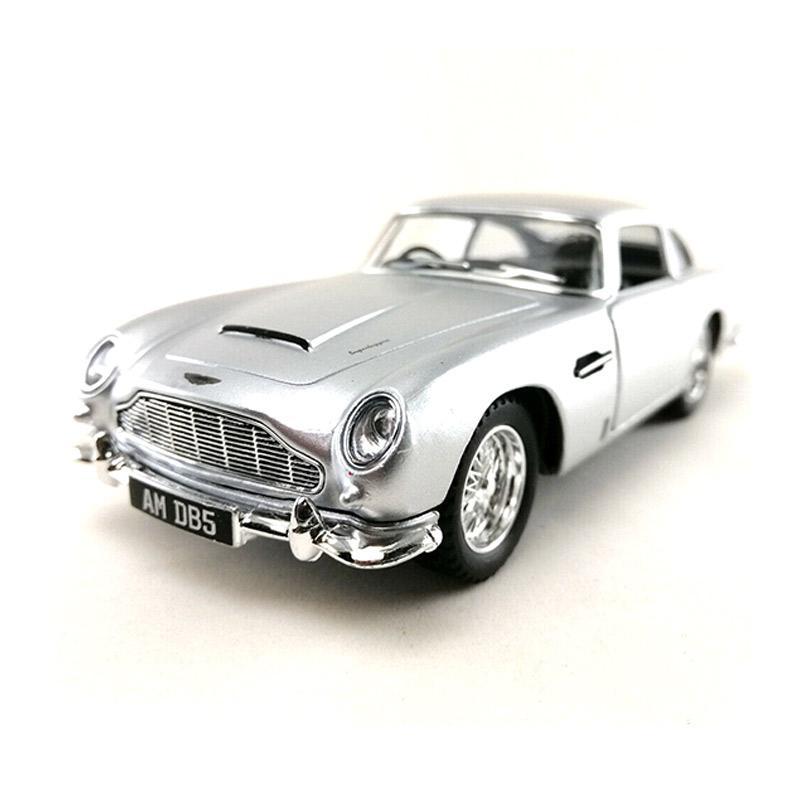 Jual Kinsmart The Aston Martin Db5 1963 Diecast Silver 1 38 Online Januari 2021 Blibli