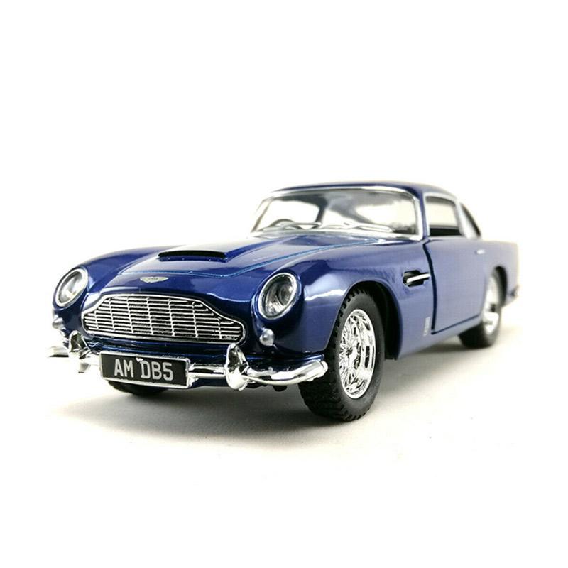 Jual Kinsmart The Aston Martin Db5 1963 Diecast Biru 1 38 Online Januari 2021 Blibli