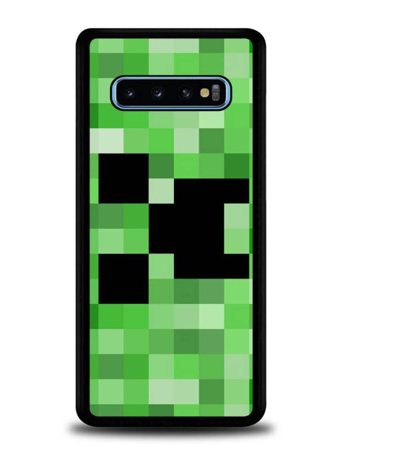 Jual Casing Custom Hardcase Minecraft Creeper Face Sleeve L1266 Samsung S10 Online September 2020 Blibli Com