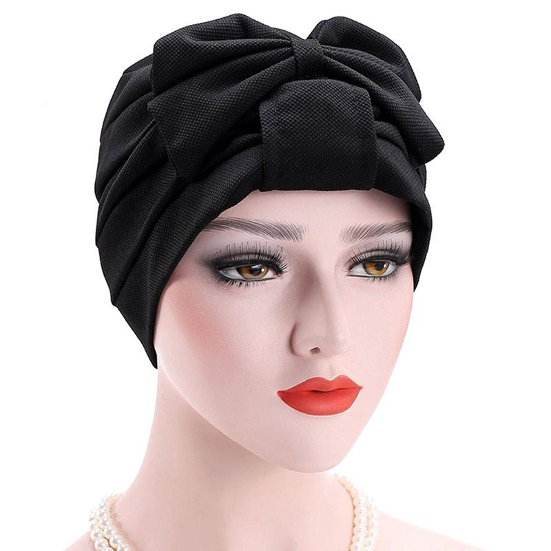 Turban Plus Womens Cotton Newsboy Fitted Summer Chemo Hat Stretch Band for Cancer Hair Loss