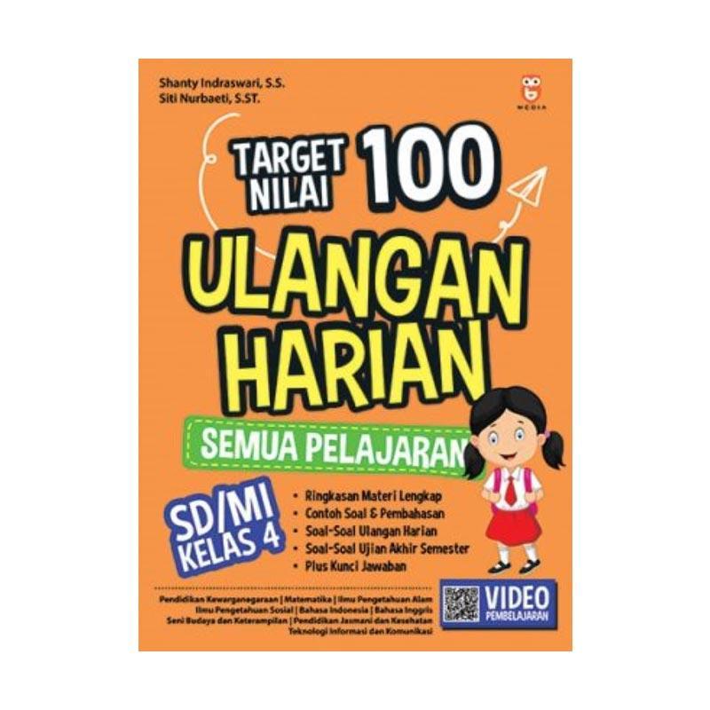 Jual Bmedia Target Nilai 100 Ulangan Harian Semua Pelajaran Sd Mi