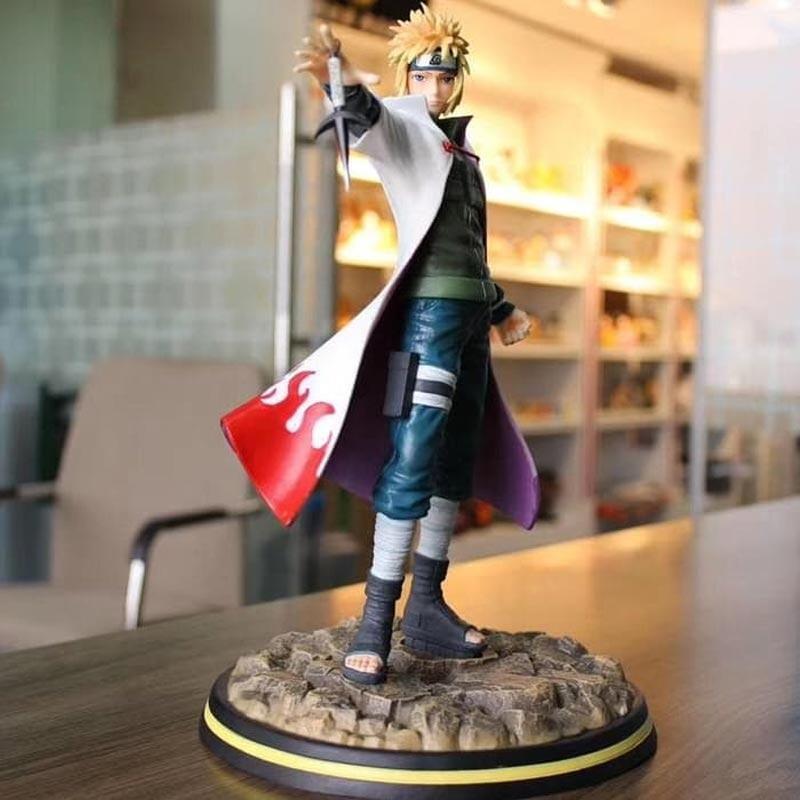 "Naruto Shippuden 4/"" Minato 4th Hokage figure MIB SDCC Exclusive"