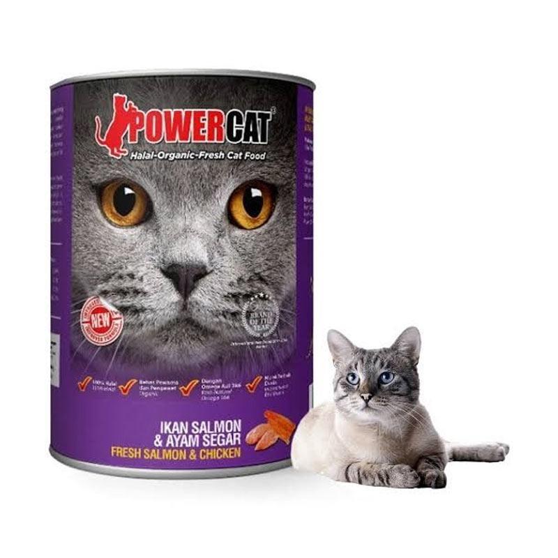Jual Power Cat Salmon N Chicken 400 Gr Murah Maret 2020 Blibli Com