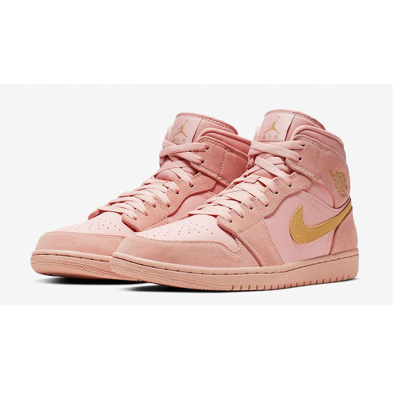 NIKE Men Basketball Air Jordan 1 Middle SE Sepatu Basket Pria