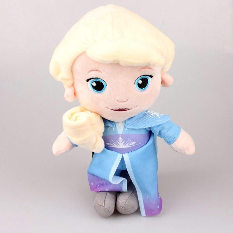 Disney Store Original Plush Elsa Soft Toddler Doll 12 in Frozen NEW Stuffed