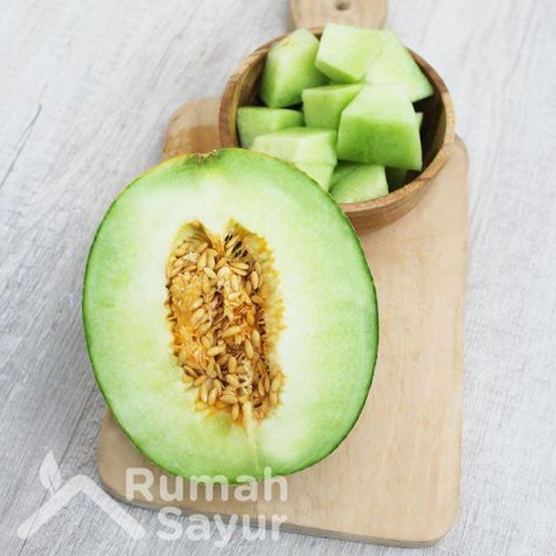 Rumah Sayur Alam Sutera Buah Melon Hijau 1 buah