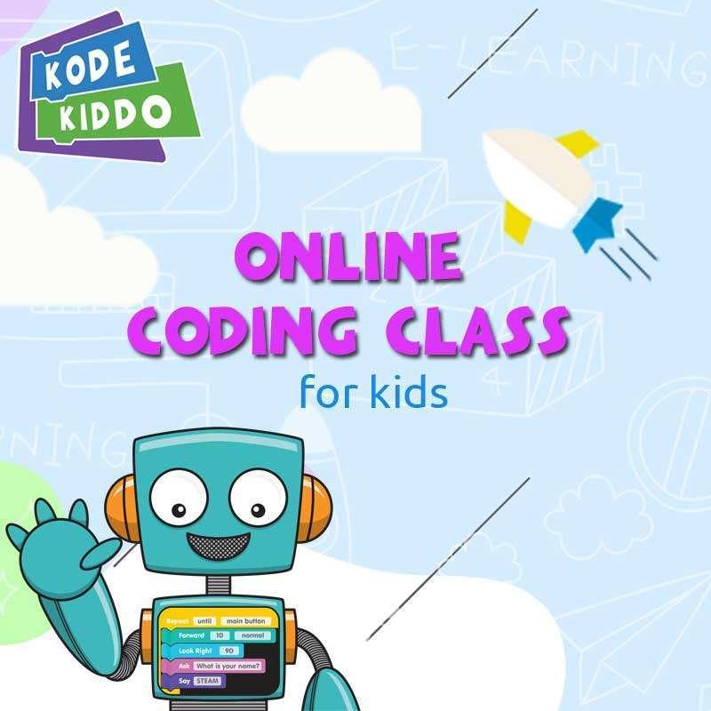 Kodekiddo Coding Online SD Green Package E Ticket