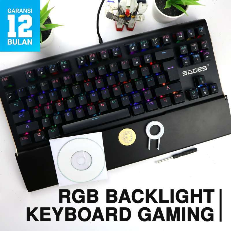 Jual Sades Shield Gaming Keyboard Online Oktober 2020 Blibli Com