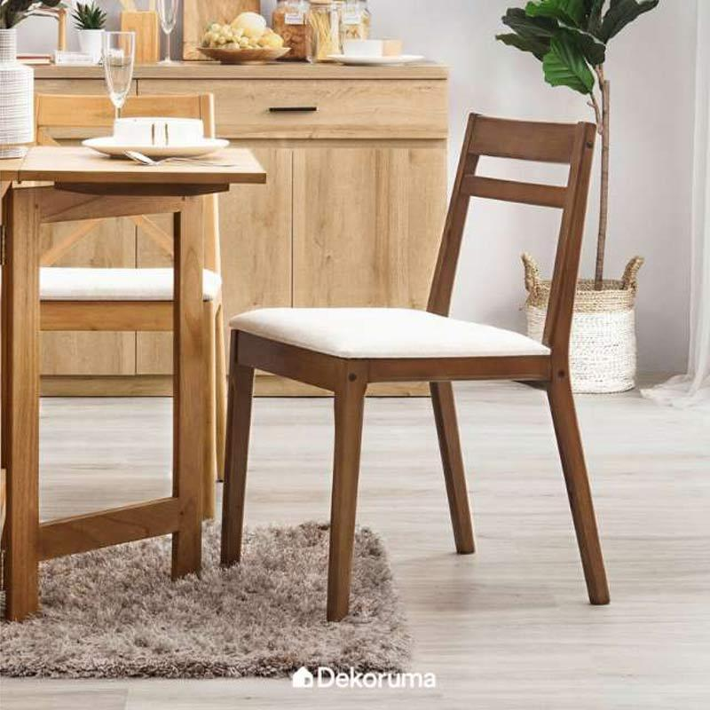 Jual Dekoruma Gozo Kursi Makan Kayu Minimalis Cafe Dining Chair Online Oktober 2020 Blibli Com