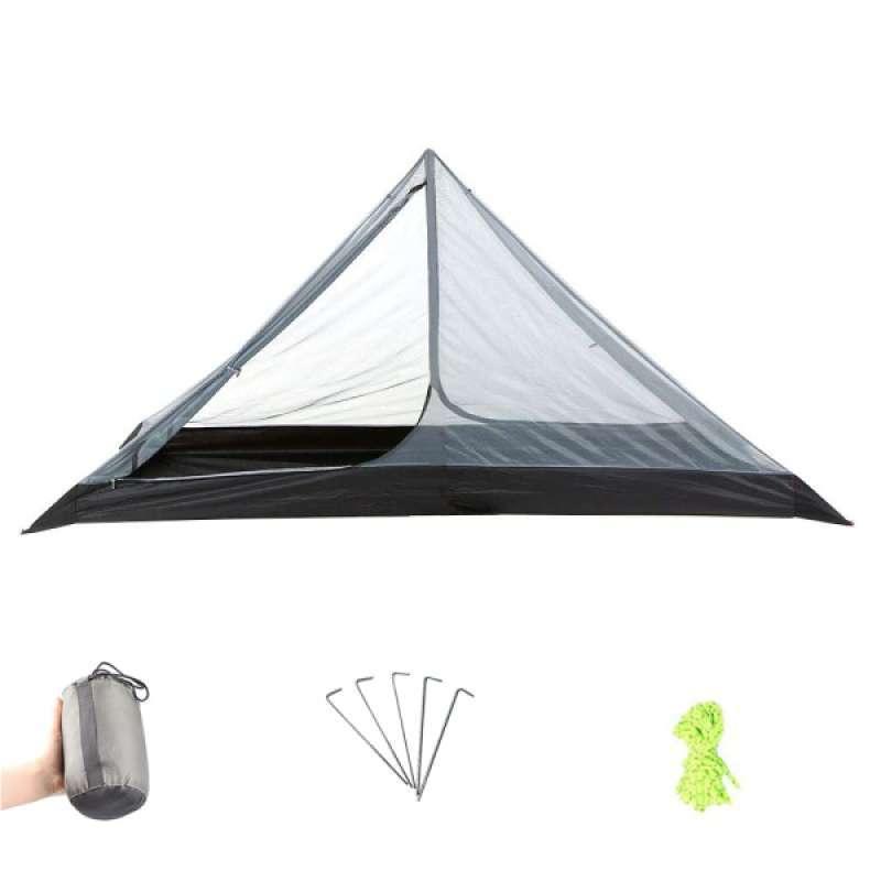 Jual One Person Trekking Pole Tent Ultralight Camping Trekking Backpacking Tent Online Desember 2020 Blibli