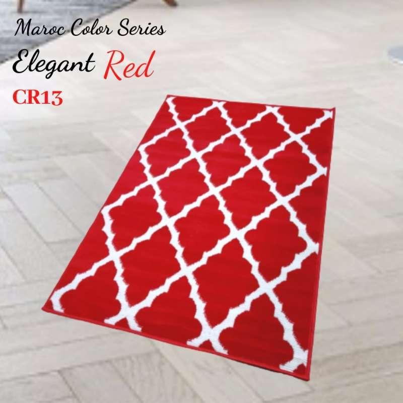MAROC Karpet Lantai 100x150 CR13 Red