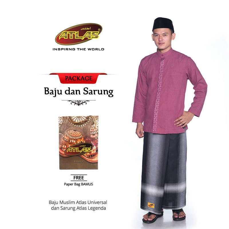 Package Baju Muslim ATLAS
