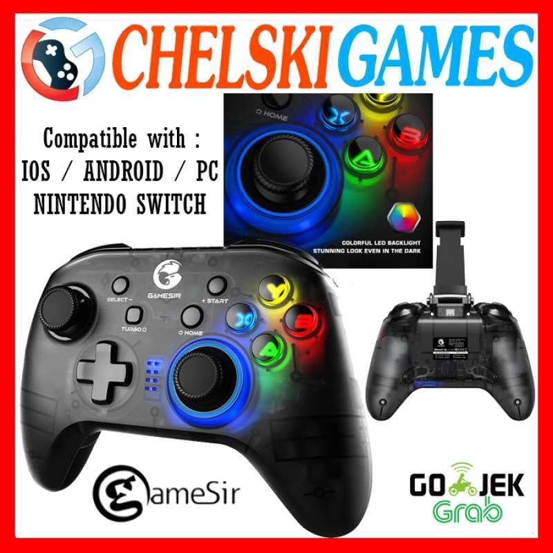 Chelski Games GameSir T4 Pro Gamepad Wireless Hybrid with Smartphone Holder