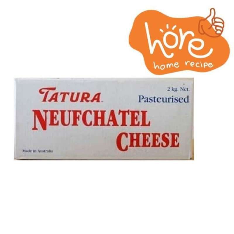 Jual Tatura Neufchatel Cream Cheese 1 Kg Kemasan Repack Online Desember 2020 Blibli