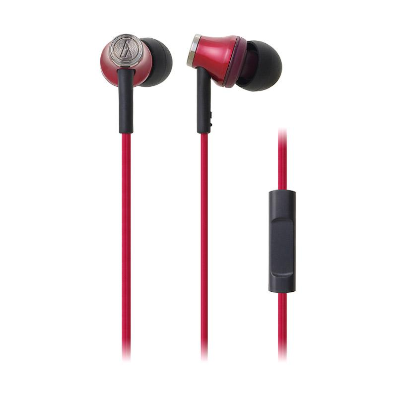 Audio Technica ATH-CK330IS Headset Red