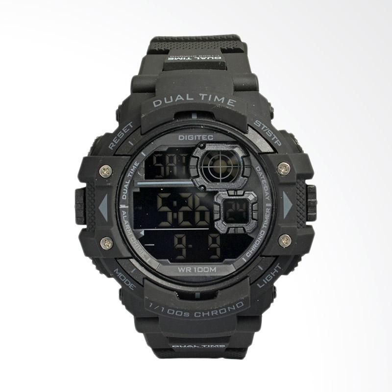 Digitec Sport Jam Tangan Pria - Black DG3007FBL