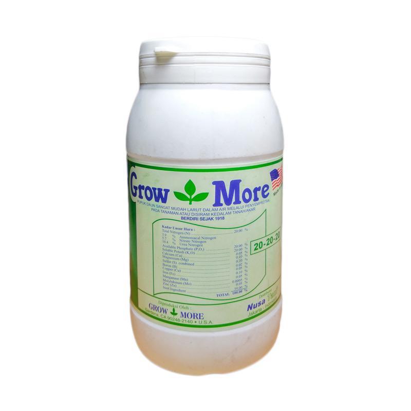 Growmore 20-20-20 Pupuk NPK Daun Seimbang [454 g]