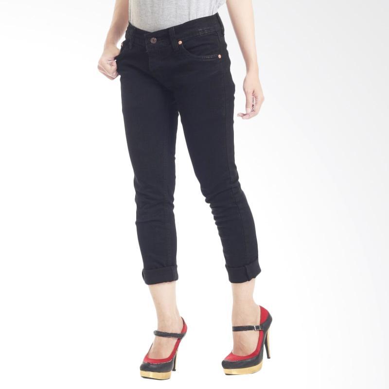 Kus_group Celana Jeans Wanita - Black