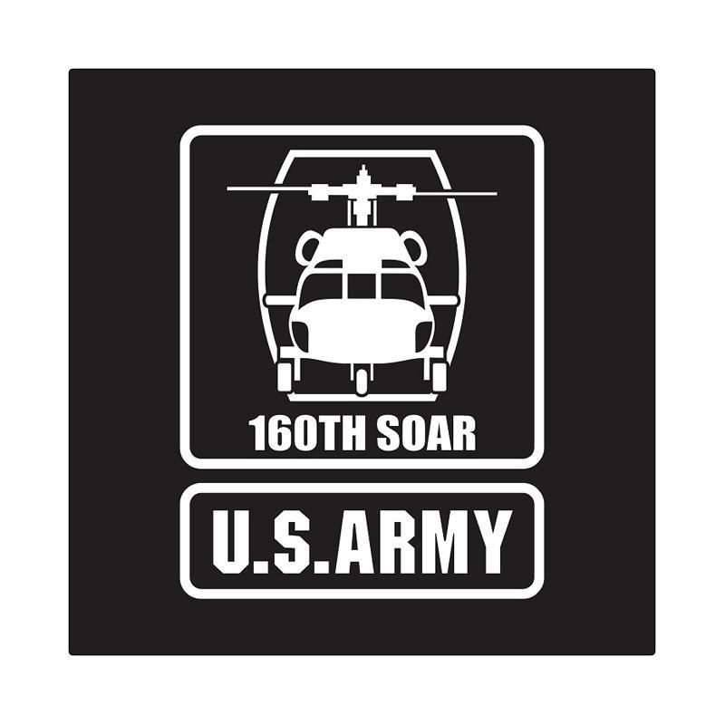 US Army 160th S.O.A.R Frame Cutting Sticker