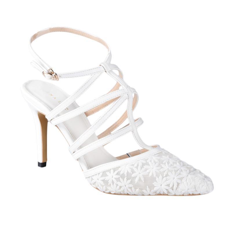 Lina Lee Ivanna Sepatu High Heels - Putih