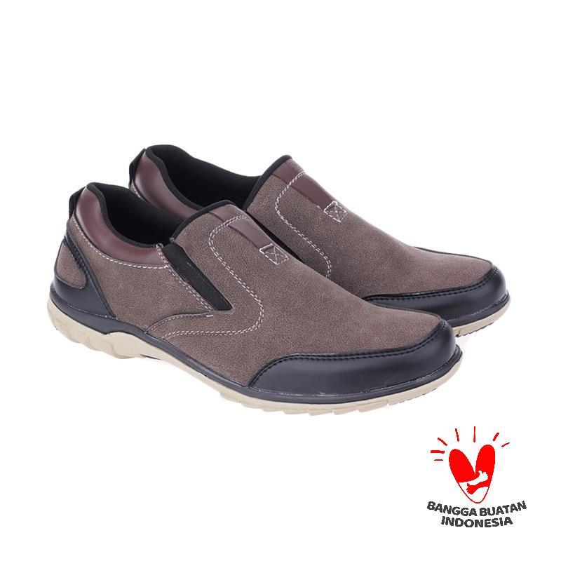 Raindoz Blade Brown RSD 014 Sepatu Pria
