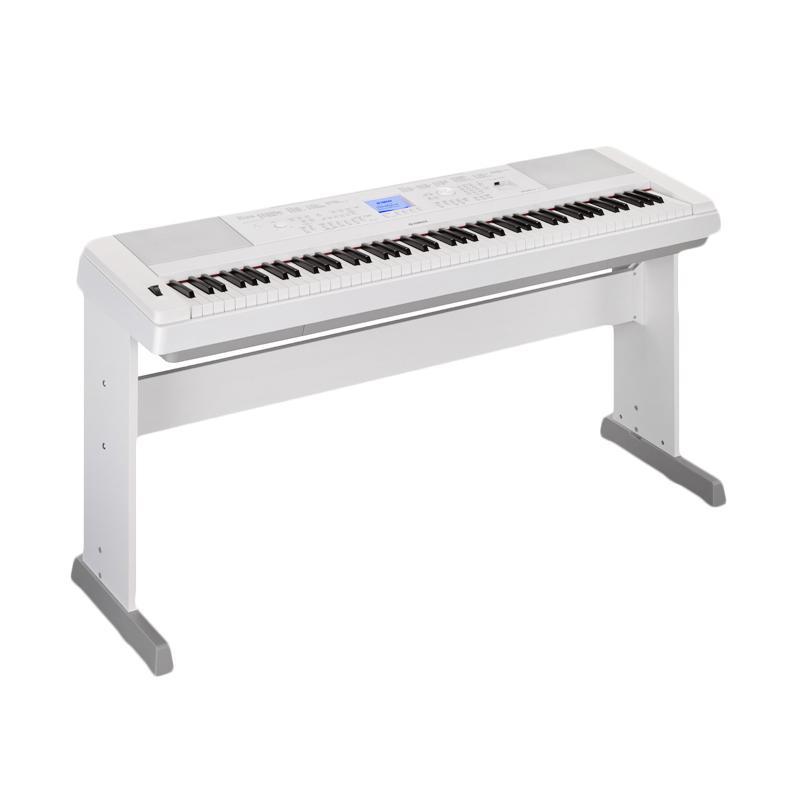 harga Yamaha DGX 660 Portable Digital Piano - White Blibli.com