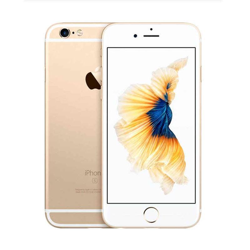 Diskon Apple iPhone 6S Plus 64GB Smartphone – Gold (Refurbish)