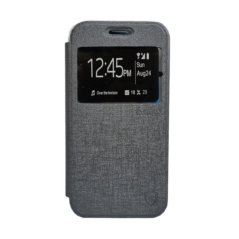 harga Zagbox Flip Cover Casing for Xiaomi Redmi Mi4i - Abu-abu Blibli.com