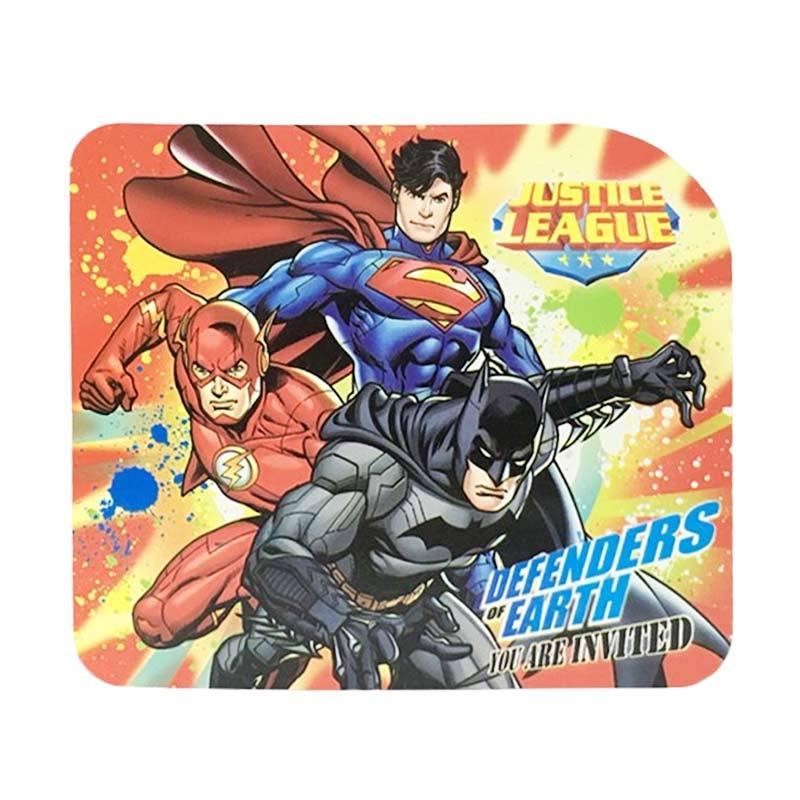 Justice League Invitation Card Tipe 6 Kartu Undangan