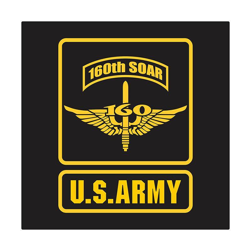 US Army 160th S.O.A.R Wing Cutting Sticker