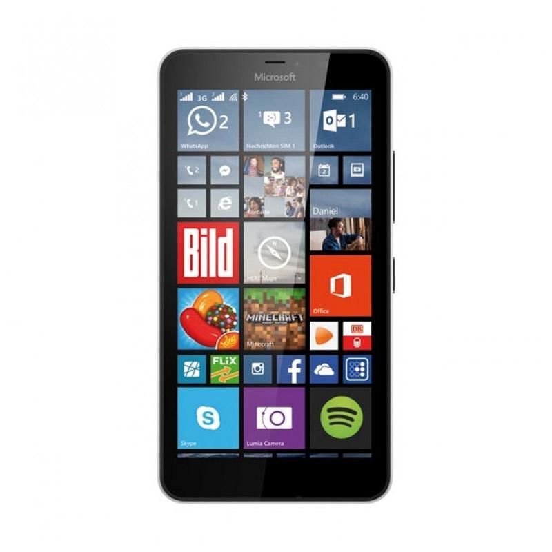 harga Microsoft Lumia 640 XL RM1067 Smartphone - White [8 GB/1GB] Blibli.com