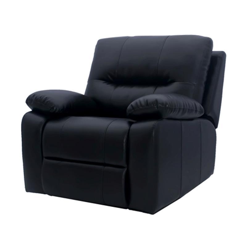 Aim Living Reclening Lux Sofa - Hitam