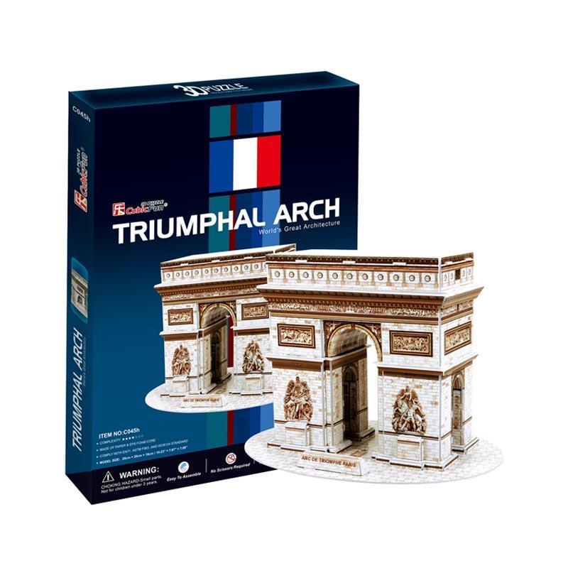 harga Cubic Fun C045h Triumphal Arch 3D Puzzle Blibli.com