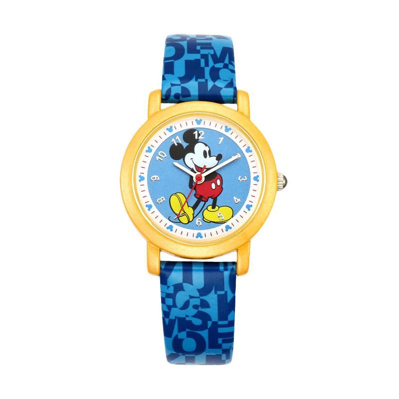 Disney MS14025-L Mickey Jam Tangan Anak - Biru