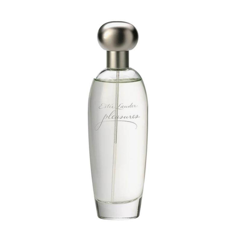 Estee Lauder Pleasures Woman Parfum Wanita [100 mL] Ori Tester Non Box