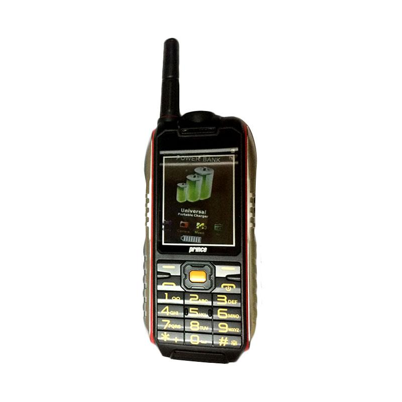 harga Prince PC-398 Powerbank Handphone - Black [10.000 mAh] Blibli.com