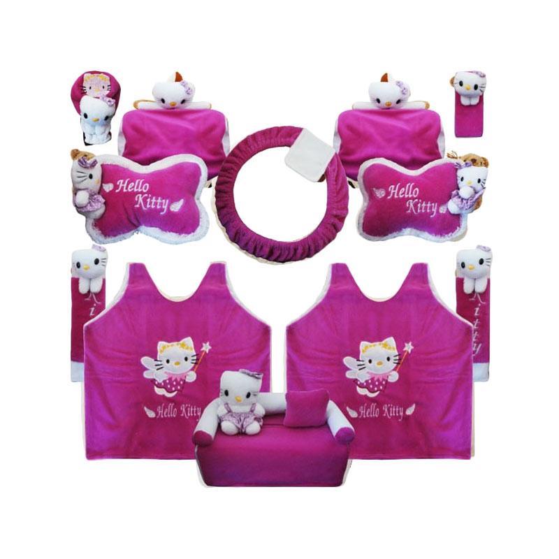 Jual Bantal Mobil Hl Fiesta 8in1 Boneka Hello Kitty Set Aksesoris