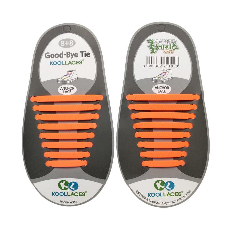 Koollaces Dewasa Tali Sepatu - Orange