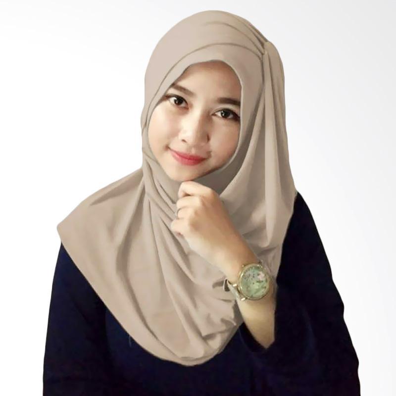 Kus Group Alesya Hijab - Coklat Muda