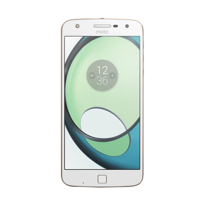 ICT 2017 - Moto Z Play Smartphone - White [32GB/ RAM 3GB]