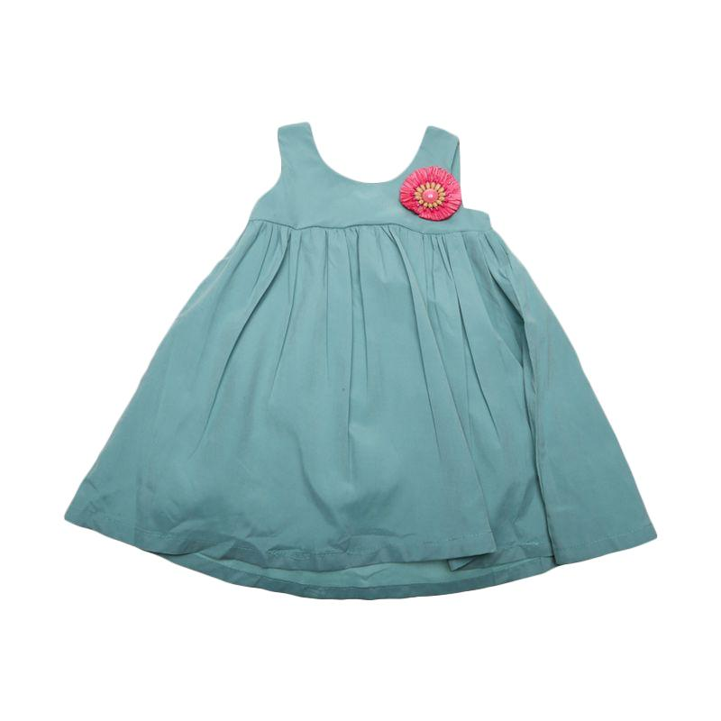 Adel & Audrey 125 Dress Anak - Turquoise
