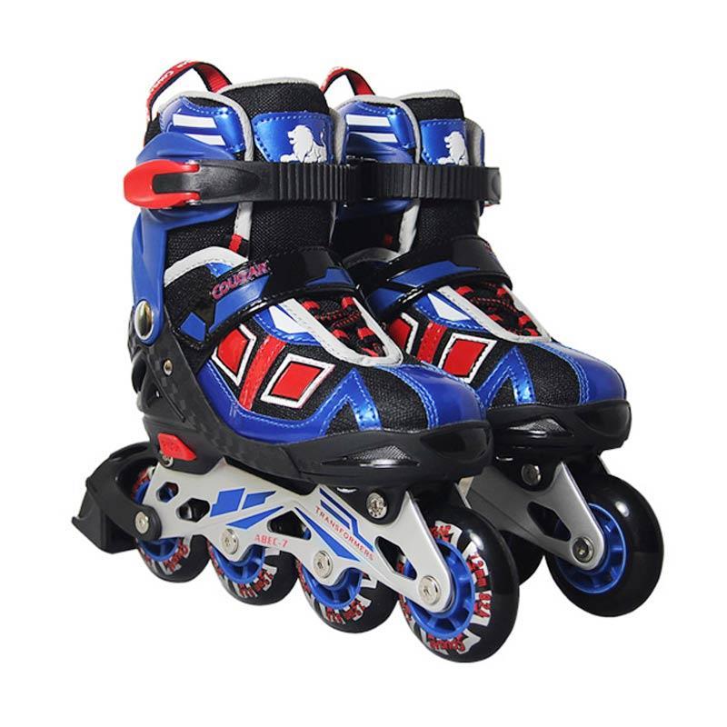 harga Cougar ADJ.Inline Skate W-ABEC7 MZS839 Sepatu Roda - Blue [38-41] Blibli.com