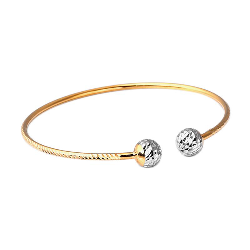 Gelang Emas Kadar 75 - Gold Bangle-WHIZLIZ